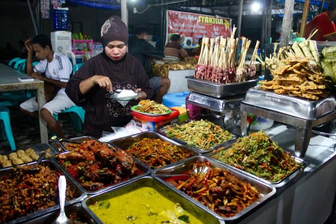 Padang Food Kupang Market
