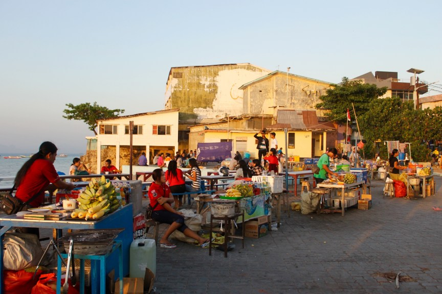 Twilight Sunset Market Kupang