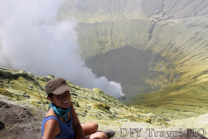 Me in the crater of Mount Bromo