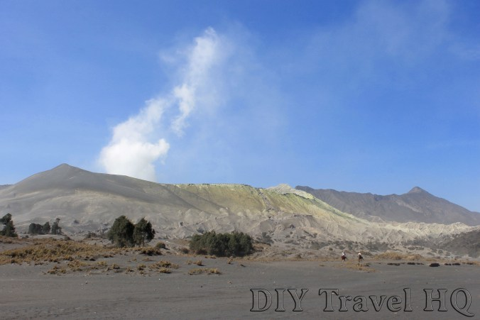 The other side of Mount Bromo