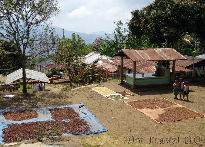 Mt Kelimutu Village