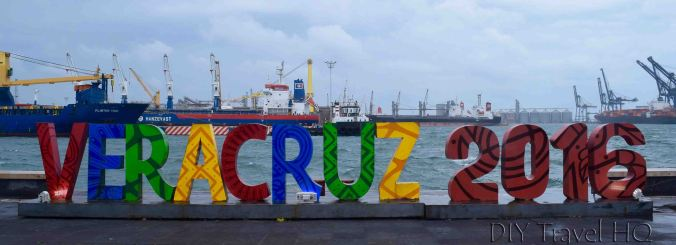 Veracruz sign