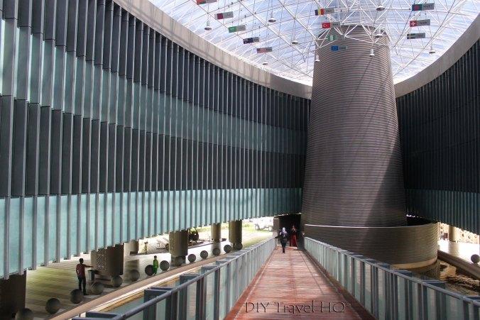 Inside the Tsunami Museum