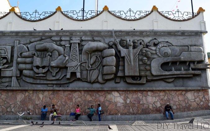 Papantla Mural