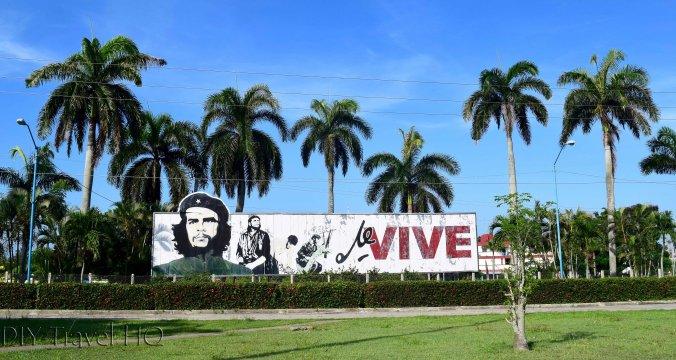 Che Guevara propaganda Las Tunas