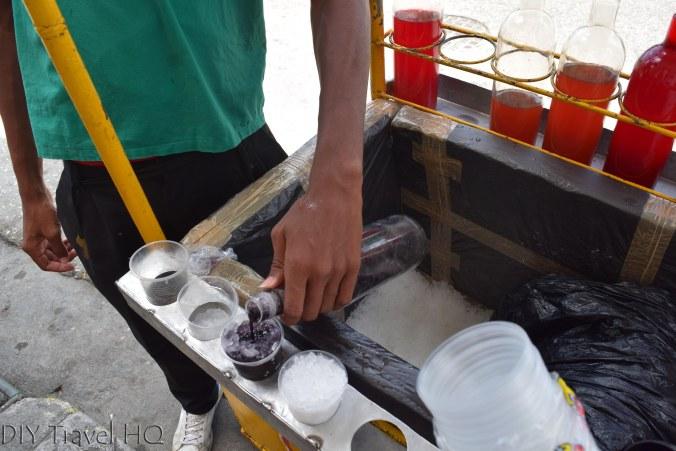 Granizado Snow Cone cart