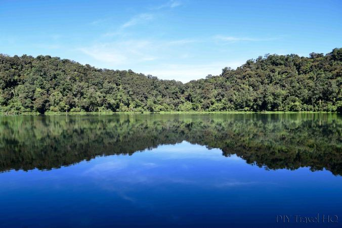 Laguna Chicabal Mirror Reflections in Water