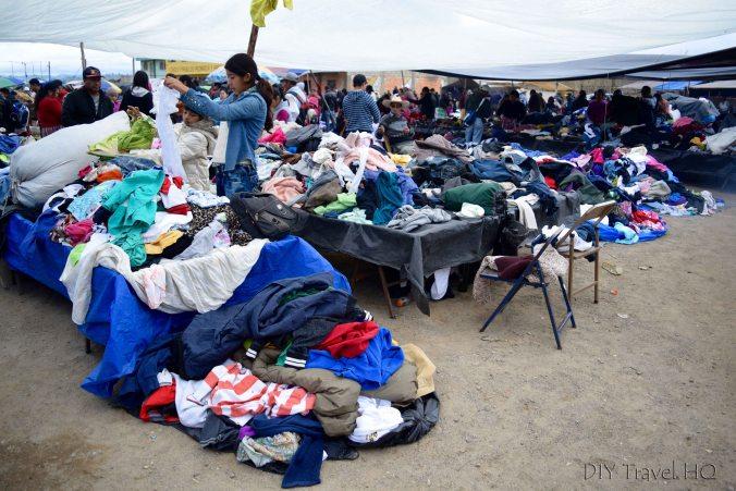 San Francisco El Alto Market Clothing Frenzy