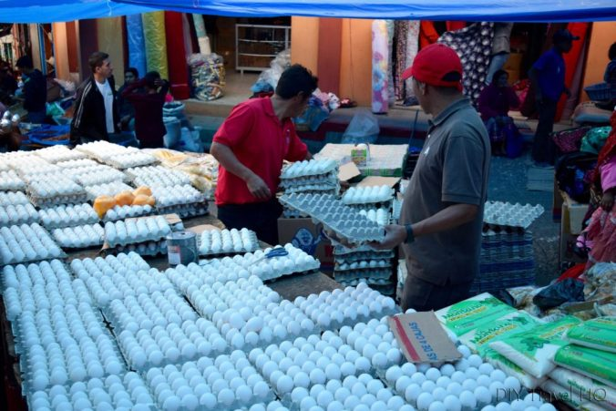 San Francisco El Alto Market Eggs
