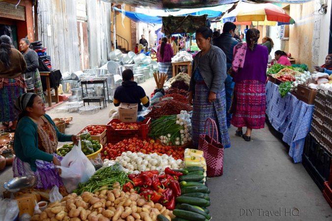San Francisco El Alto Vegetable Market