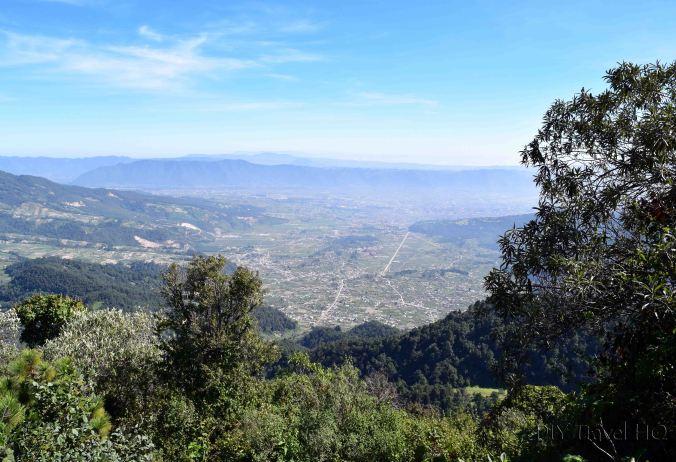Volcan Santa Maria Opening View While Climbing