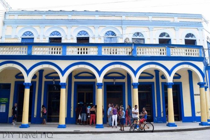 City Hall in Parque Vidal in Bayamo