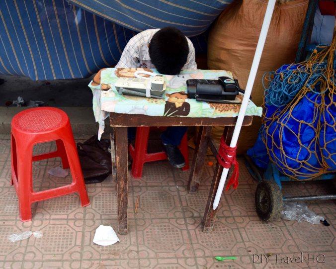 Momostenango Market Landline Salesman