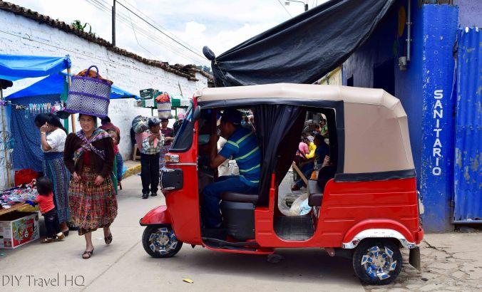 Momostenango Market Tuk Tuk