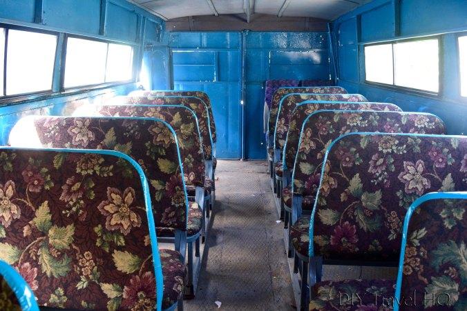 Inside camion from Ciego to Jatibotanico