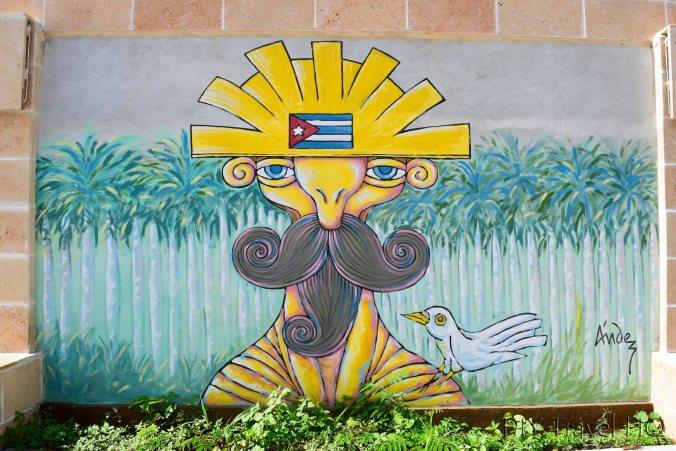 Satirical Mural in Santa Claral
