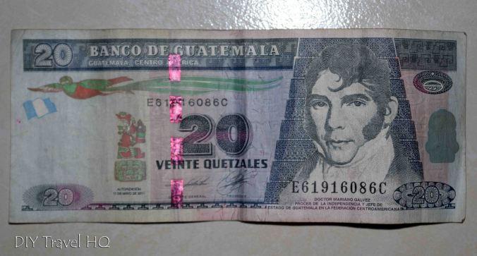 20 Quetzales