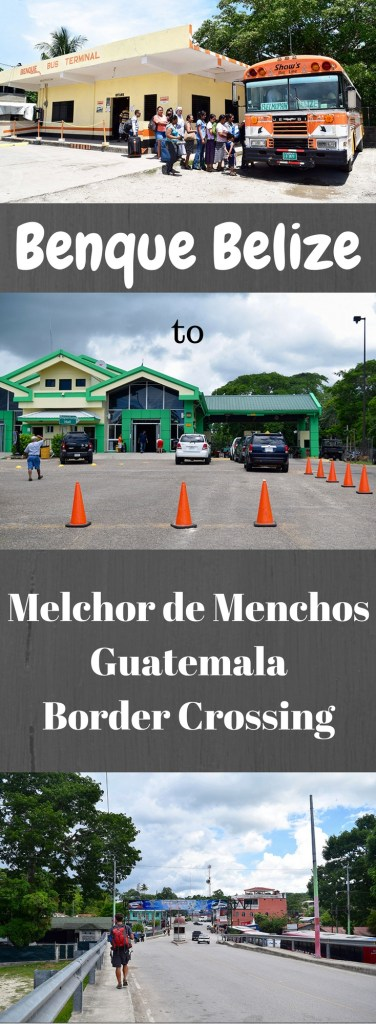 Benque to Melchor de Menchos Border Crossing