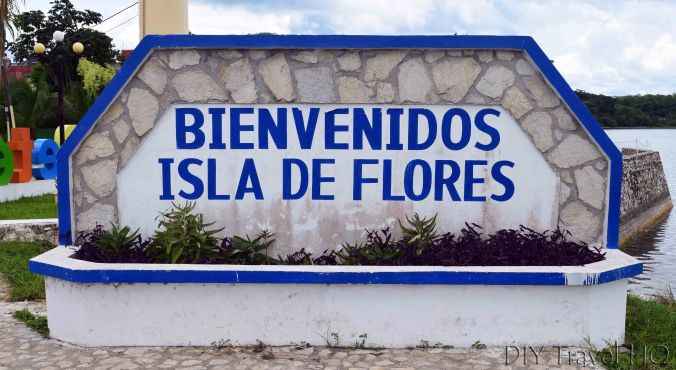 Flores Welcome Sign