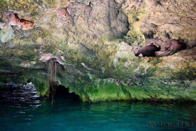 Gran Cenote rock formations