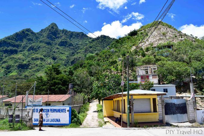 Indian Nose Hike Entrance in San Juan La Laguna