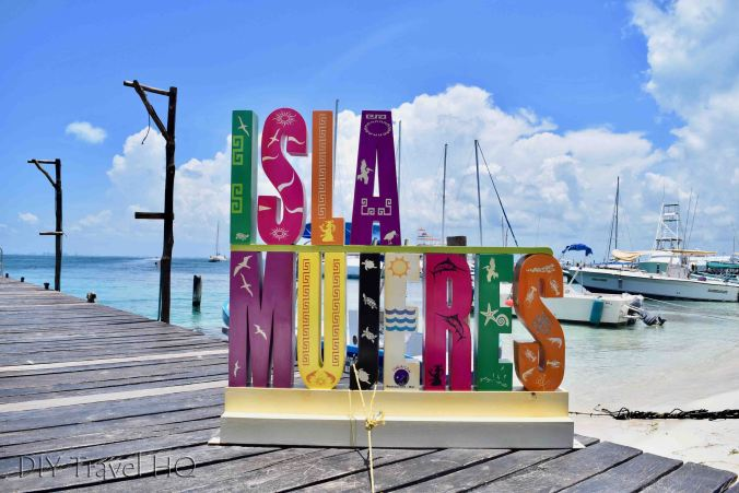 Isla Mujeres sign