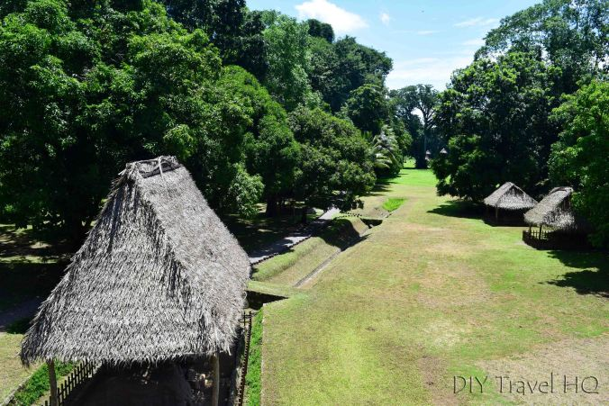 Quirigua View of Central Plaza from Acropolis