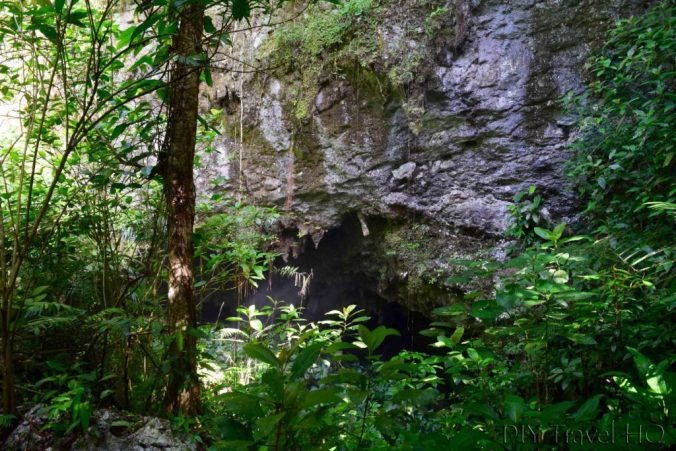 St Herman's cave entrance