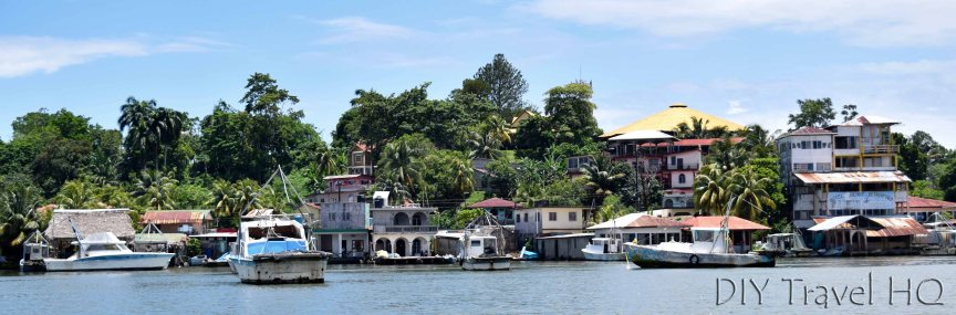 View of Livingston From Boat Tour