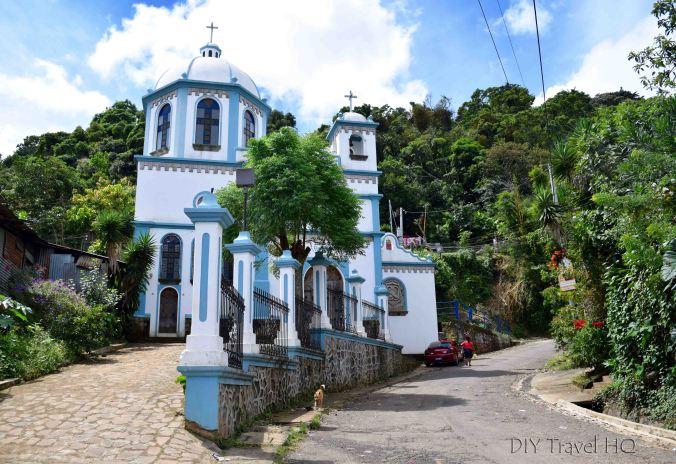 Ataco Iglesia El Calvario