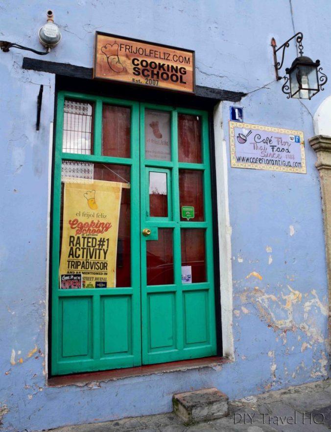 Entrance to El Frijol Feliz