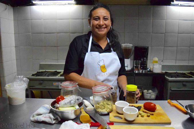 El Frijol Feliz teacher Leivi