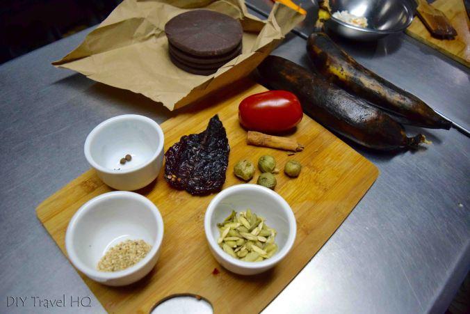 Mole de Platanos recipe