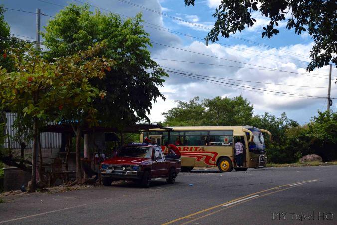 Las Chinamas to Ahuachapan Border Bus