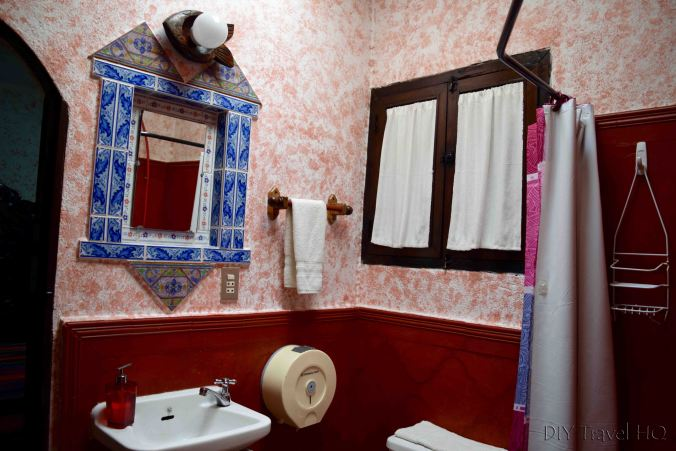 Posada Belen Museo Inn Bathroom