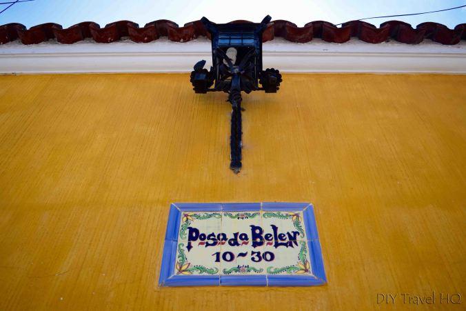 Posada Belen Museo Inn Sign