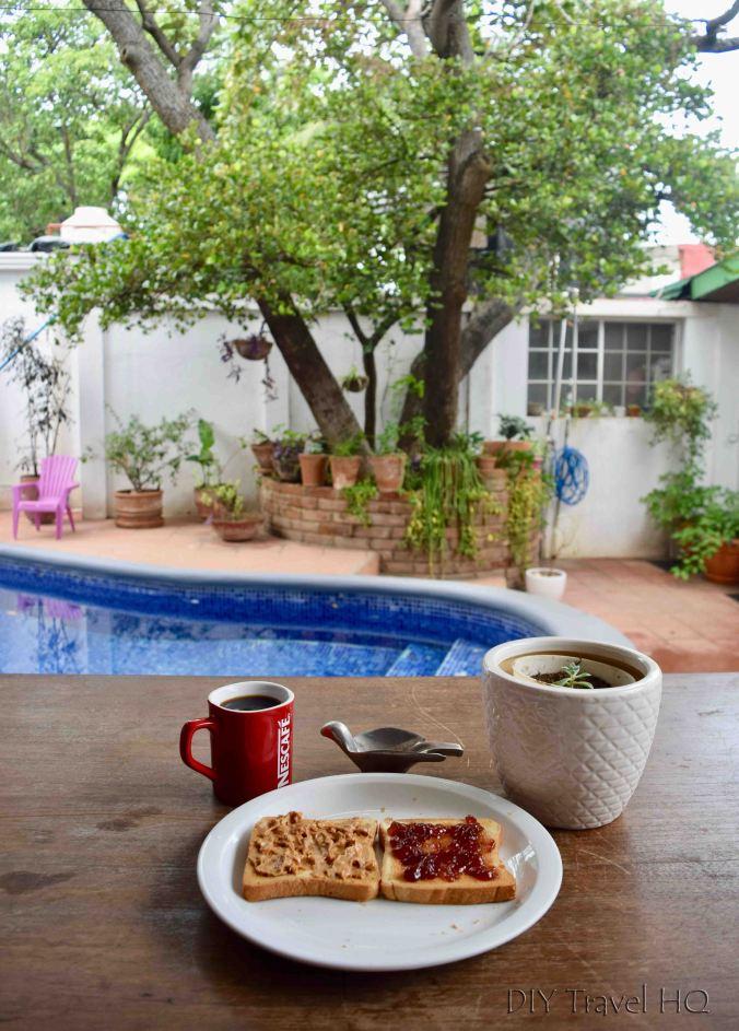 Breakfast included at Casa 37 Hostal