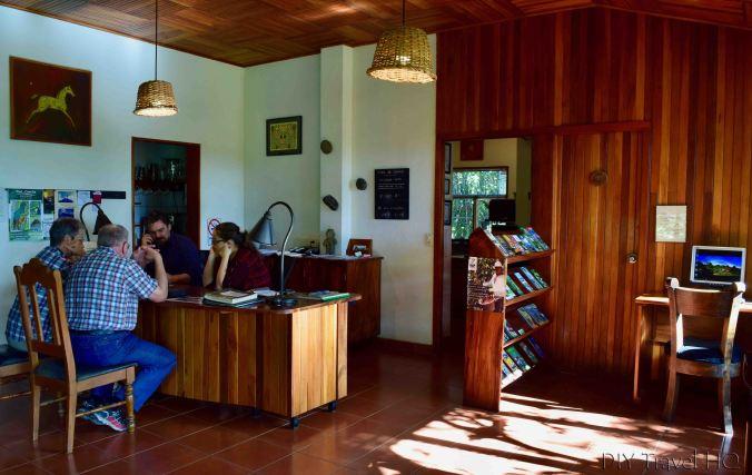 Reception Arco Iris Lodge