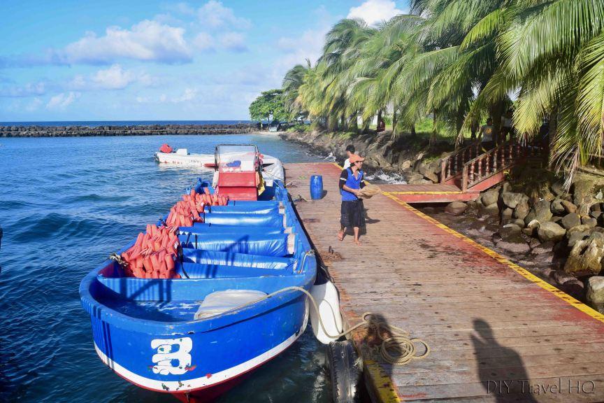 Big Corn Island to Little Corn Island Panga Boat