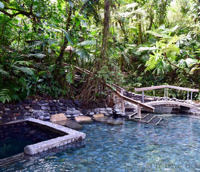 EcoTermales La Fortuna Hot Springs Pools