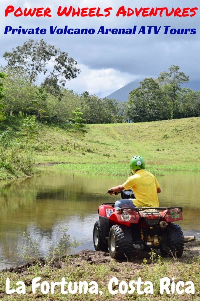 If you only do one adventure activity in La Fortuna, make it a Private ATV Tour with Power Wheels Adventures - so put your thumbs to the throttle & go off-road! La Fortuna is the adventure capital of Costa Rica & while we were in town, we here at DIY Travel HQ road-tested many of the activities on offer. The ATV Tour with Power Wheels Adventures was the one we were most excited about – and it lived up to expectations. Find out why it's the most fun you'll have in Costa Rica!