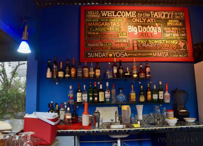 Bar at Big Daddy's Grill