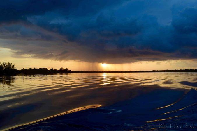 Utila Island sunset