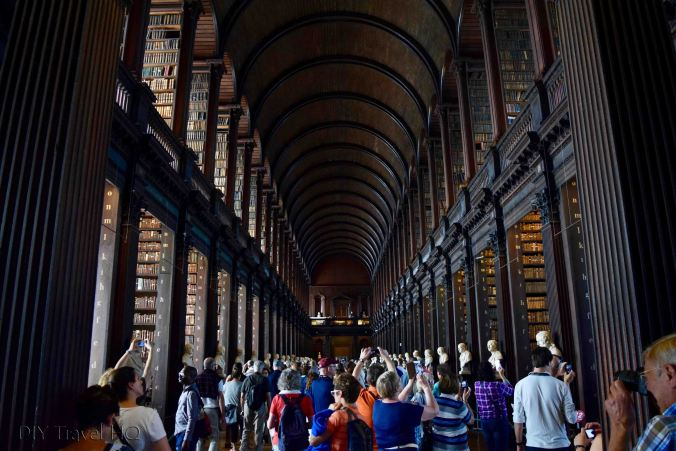 Long Room Old Library