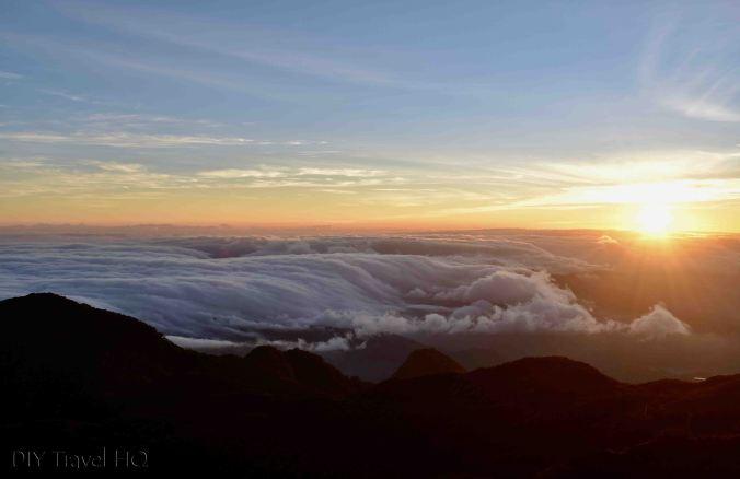 Volcan Baru Sun Rising