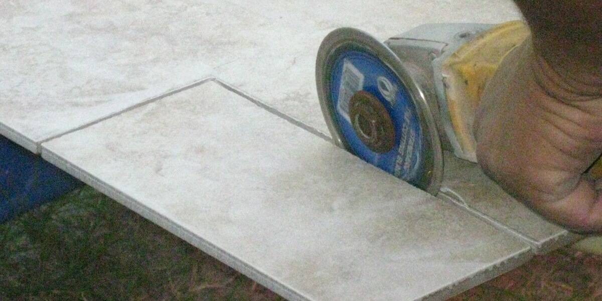 how to cut a tile porcelain or ceramic