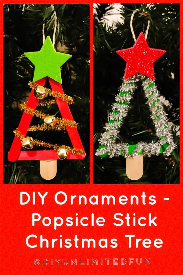 christmas ornaments popsicle sticks # 82