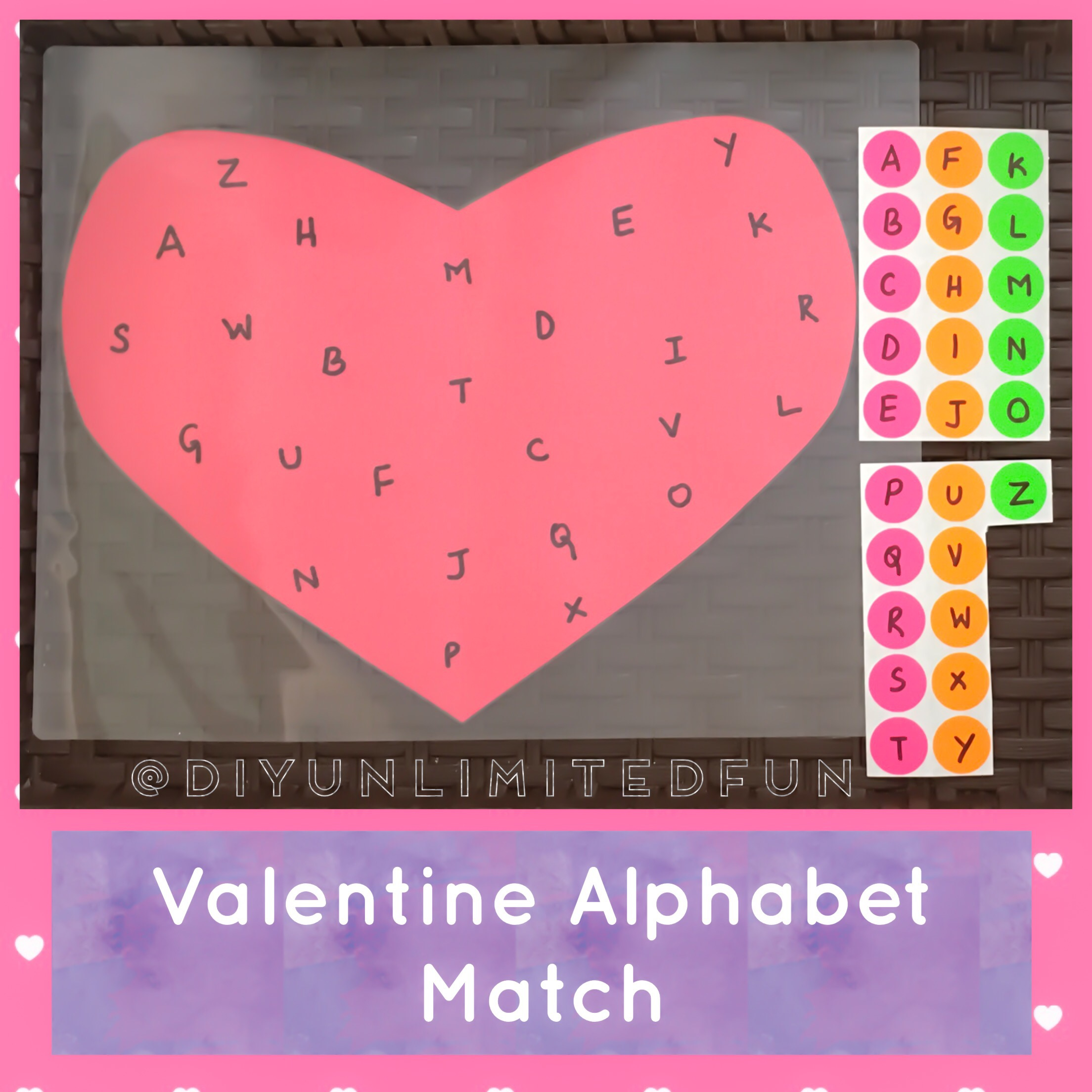 Valentines Literacy Amp Math Activities Toddlers Amp Preschoolers Simple Diys Kids Activities