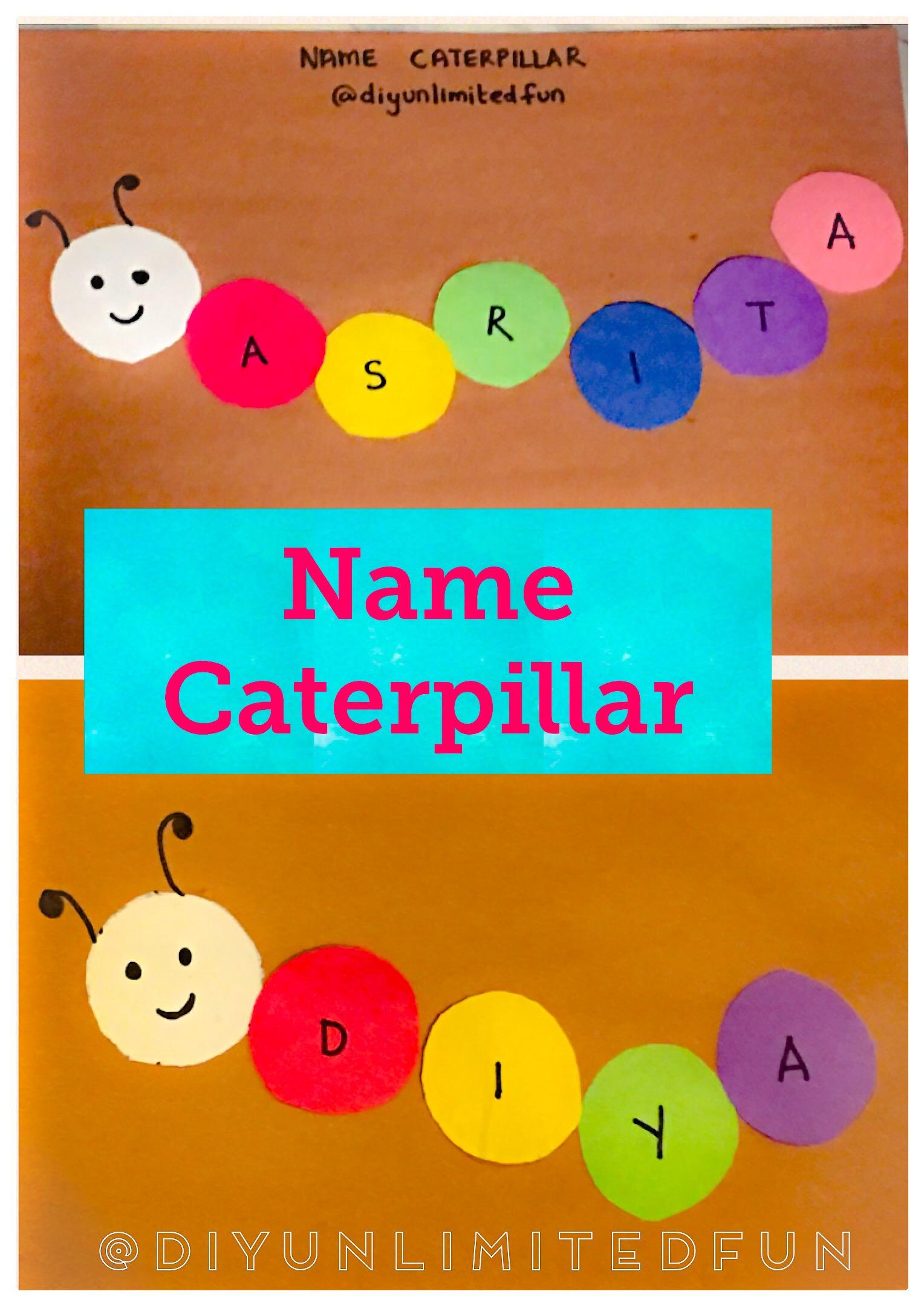 Caterpillar Theme Math Amp Literacy Activities Toddlers