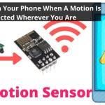 IoT Motion Sensor – ESP8266 01 + PIR